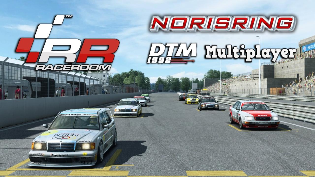 RaceRoom Racing | Multiplayer | DTM 1992 @ Norisring