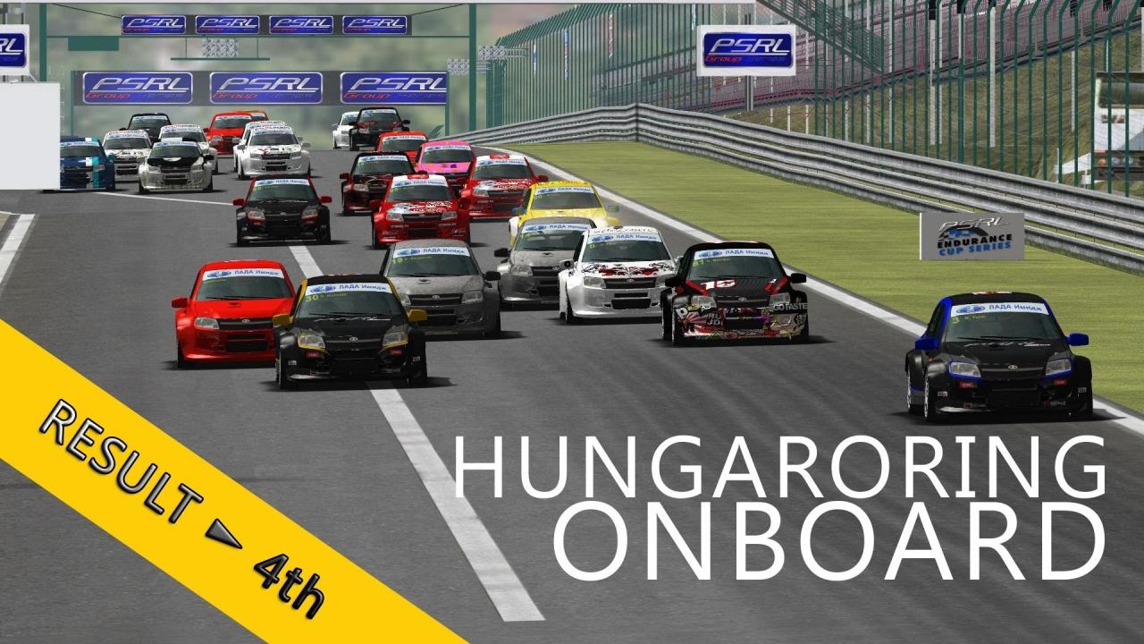 PSRL-VSR Lada Granta Cup 2014 | Hungaroring | R1 | Balazs Toldi OnBoard